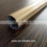 Customized aluminum hollow curtain rod, curtain pole, curtain bar profile