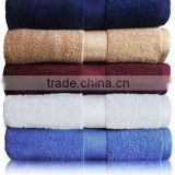 100% cotton terry embroidery bath towel