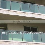 aluminum and glass balcony handrails,aluminum glass stairs                                                                         Quality Choice