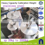 OIML M1 class, 25kg stainless steel Truck Scale calibration weights, test weight for crane