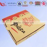 custom logo printed kraft paper box,pizza box food packaging