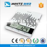 High quality 5kg electronic glass kitchen scale with timer temperature and humidity