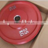 Colourful Rubber Bumper Weight Plates (stainless steel ring)Colourful Rubber Bumper Weight Plates (stainless steel ring)