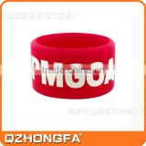 Cutomized debossed logo unique design silicone rubber wedding ring