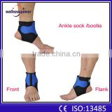 2016 factory ankle support 2 pcs elastic neoprene support feet protector brace sport sock