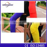 2016 wholesale best seller quick dry fabric sport armband elbow pads padded basketball arm sleeves purple