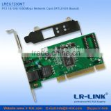 LR-LINK PCI Realtek RTL8169 Chipset 10/100/1000Mbps With Bootrom Slot Network Interface Card