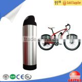 water bottle electric bike battery lithium 24V 8Ah battery with BMS, charger for electric bike