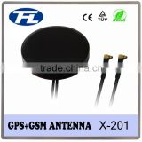 car Combo GPS GSM magnetic antenna with MMCX Male right angle connector,combined GPS GSM antenna
