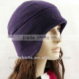 100% polar fleece thermal hat