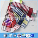 china supplier textiles yarn dyed cotton waffle weave second hand towels