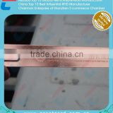 Fine Accurate Rose Golden Metal Measurement Ruler