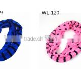 WL-119/WL-120 100% Polyester cutely circle scarves for children