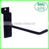 "HIGH QUALITY NEW SLATWALL 6"" BLACK PEG HOOKS METAL HANGER PEG HOOKS"