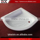 Top sale sanitary ware modern ceramic shower tray,custom made shower tray,simple shower room with high shower tray
