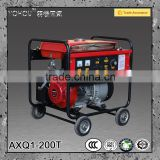 50Amp to 200Amp gasoline inverter dc arc welder for industrial construction