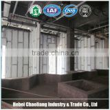 Interior partition wall panels concrete hollow core mgo board lightweight mgo wall board for office/prefab house/toilet