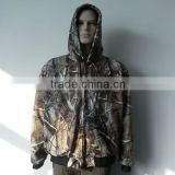 2014 Men's Heated Camo Hunting Jacket/ Battery Heated Hunting Jacket