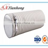 less 0.09mm thicness white PVC tape for flexible duct copolymer insulating material foil AL/PET