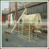 high quality and high speed large industrial tow behind double helical ribbon horizontal mixer for dry powder