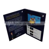 custom printing 4.3inch 5inch 7inch lcd video book for bmw car company