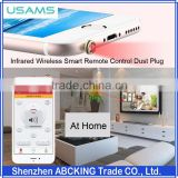 USAMS US - ZB001 Universal 3.5mm Infrared Wireless Smart Remote Control Dust Plug For iPhone / Smart Phone