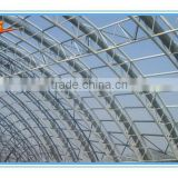 China Drawing Design Steel  Structure Construction Prefabricated Truss Roofing