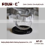 Cat aluminum alloy cookie and biscuit cutter,steel cutter