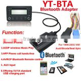 Yatour bluetooth adapter for car stereo in car audio mp3 cd player adapter with multifuntion