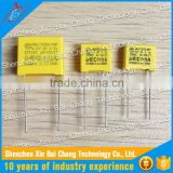 Safety Polypropylene 0.1uf 275V AC Film Capacitors