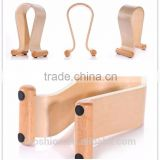 Creative High-Class Samdi Brand Wooden Stand Holder for Bluetooth Headphones, Headset Wooden Holder With High Quality