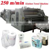 Economical Lamination High Speed Automatic Toilet Paper Kitchen Paper Towel Making Machine