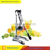 NEWEEK mini all stainless steel home hand use citrus juicer pomegranate orange squeezer juice making machine