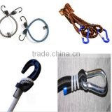 high quality bungee rope elastic rope with hook
