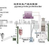 Gypsum Powder Production Line with Capacity from 30000 MT/year to 300000 MT/year Ball Mill & Classifier --Yufeng Brand