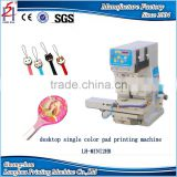 Factory Outlet one color 2 head mini pad printing machine desktop Monochrome pad printing machine