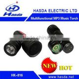 Multifunctional MP3 Music Torch HK-816