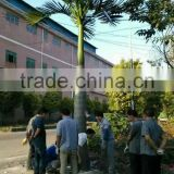 artificial tree custom available UV proof outdoor plastic coconut tree