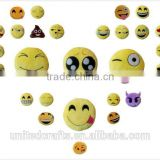 Emoticon Soft Plush Doll 1pcs Toy Stuffed Round Emoji Cute New Smiley
