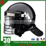 High quality Security Protection Anti Riot with Visor and metal frame Helmet