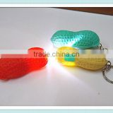 Mini Peanut Torch Flash light Keychain 1LED Flashlight Gift