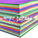 fully stock glitter powder eva foam ,eva glitter foam sheet , glitter eva sheet for crafts