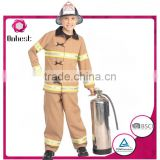 Onbest fireman uniform halloween&carnival career costume with fire extinguisher for boys