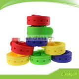 Colorful Sport Belt Silicone material