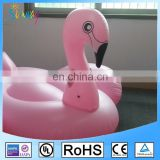 EN71 6p Eco-friendly PVC Giant Pink Inflatable Flamingo Swimming Water Pool Float