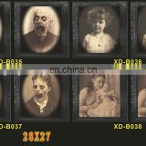 halloween changing face wall photo frames portrait party prop decoration