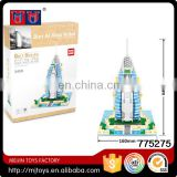 Hot selling Gift Series 909pcs Plastic Construction Toy Building Blocks Play Set for kids