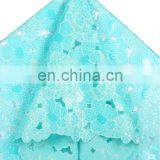 2013 hot style wholesales organza fabric inlayed many paillettes