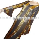 MULTI LUREX KAFTAN SHIRT