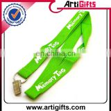 Promotion customize logo metal lanyard clamp